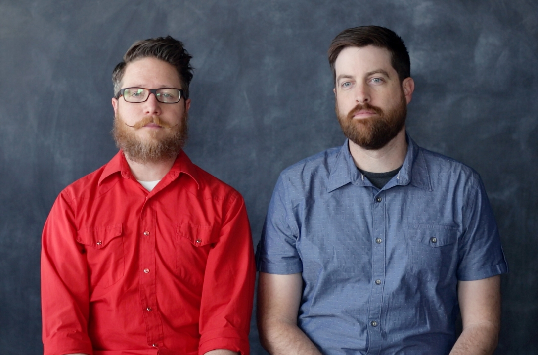 Motke Dapp and Ryan Hartsock, founders of Paper Ghost Pictures
